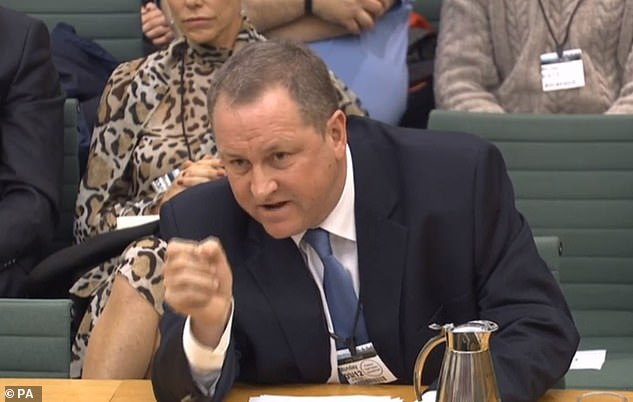Ashley gave evidence before the Housing, Communities and Local Government Committee on high streets and town centres on Monday