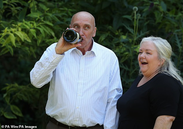The couple's win is the second largest ever in Scotland behind Colin Weir and his wife Christine who scooped £161.6million in 2011