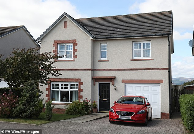 The family had previously lived in a house in Laurencekirk, Aberdeenshire before buying their new penthouse