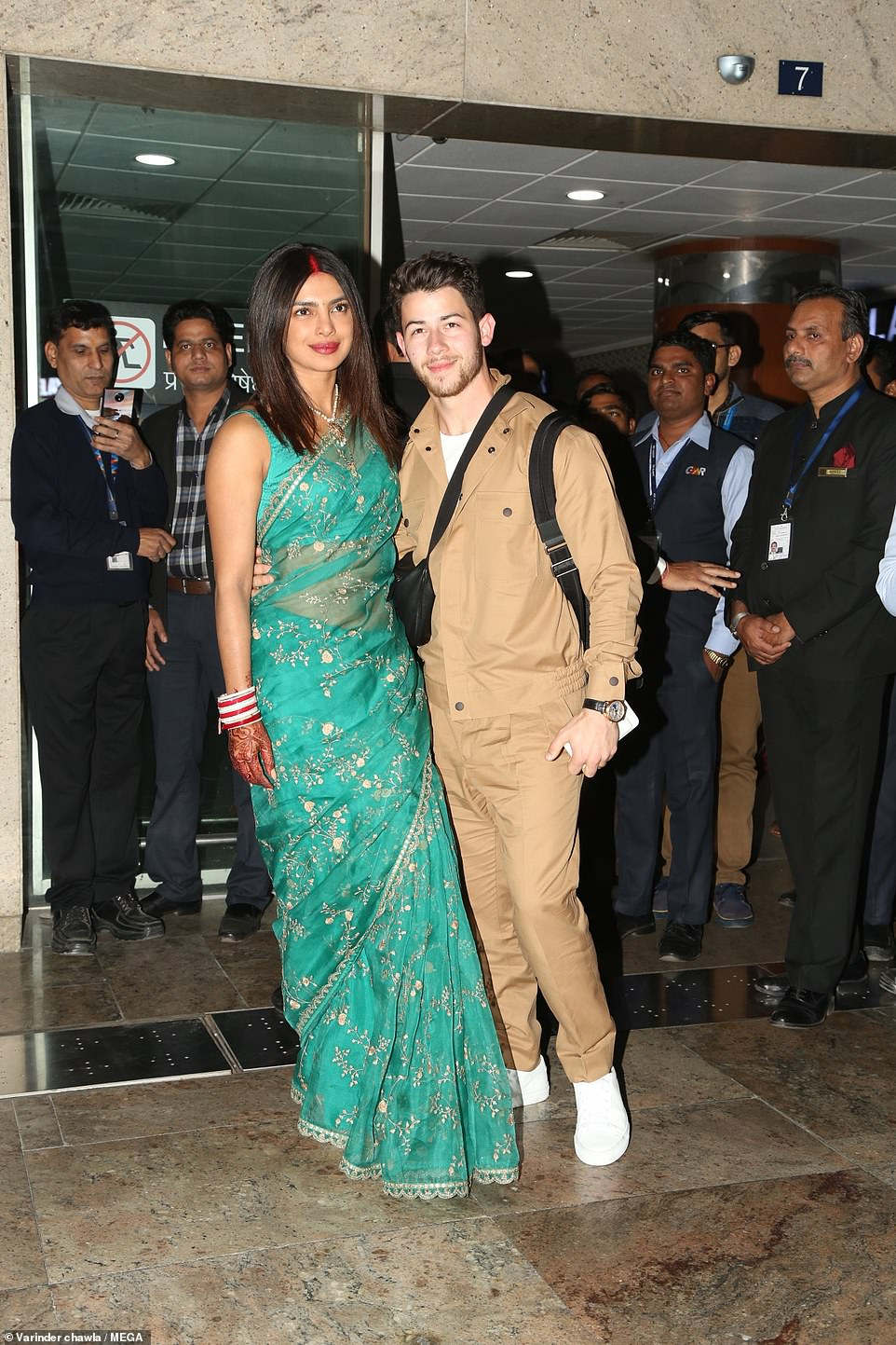 More partying to come! The couple arrived in New Delhi Monday for their Tuesday reception in the capital, where their guest list is rumored to include Indian Prime Minister Narendra Modi