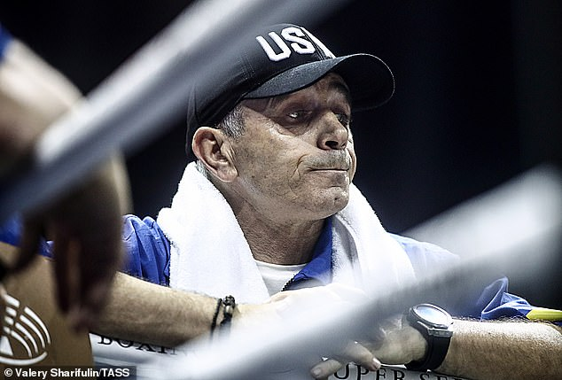 Anatoly is the mastermind behind his son's ascent to the very top of boxing