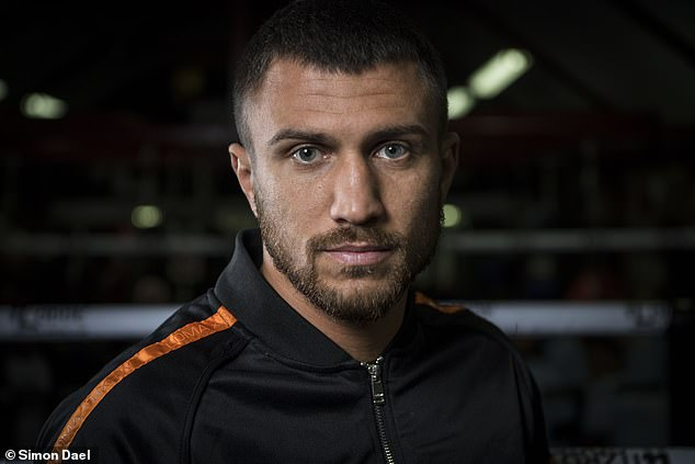 Lomachenko says:'I'm doing all of this for my legacy. Because I want to be the greatest.'