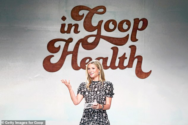 Impressive: Hollywood star Gwyneth's lifestyle brand Goop is now reportedly worth a whopping £190million as she offers pricey wellness products