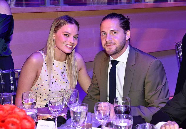 Cute couple: Margot has been married to Tom Ackerley since 2016 (pictured in 2017)