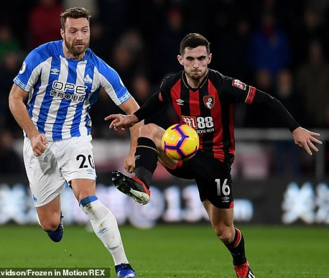 Lewis Cook Seriously Injured Young Star Lewis Cook From Bournemouth Broke His Knee Ligament In A 2 1 Victory At Huddersfield Town