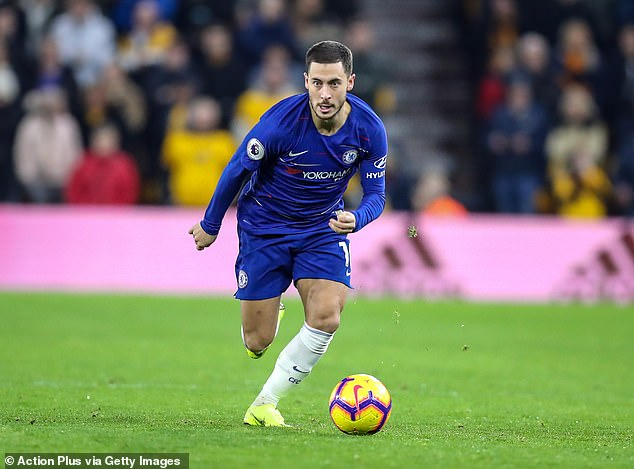 His critical eye extends to Eden Hazard, another diamond of Chelsea thriving under the head Sarri
