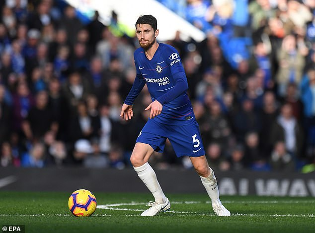 Les équipes grouillent autour de Jorginho, isolant Eden Hazard et Chelsea en difficulté
