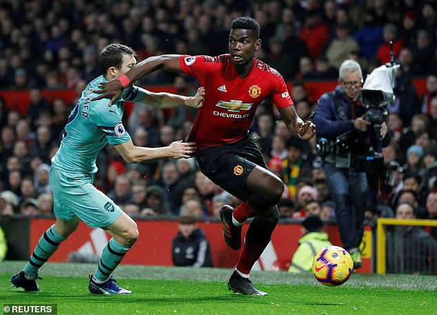 Frenchman received a mixed reception when he came on for Jesse Lingard in the 75th minute