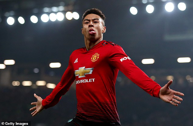 Jesse Lingard scored his first goal of the season in the draw with Arsenal on Wednesday night