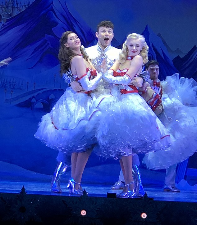 Snow White at the London Palladium will open tomorrow having sold a record £8 million worth of tickets