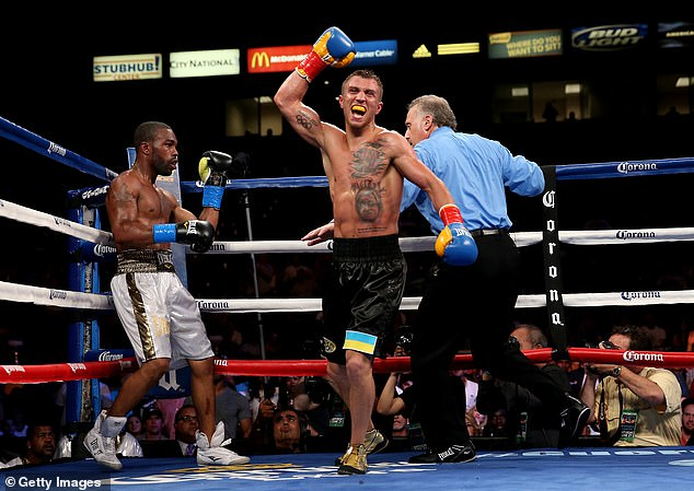 Lomachenko's rise to the top speed with four fights in which his opponents quit