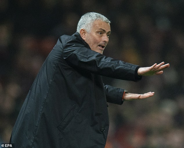 """Mourinho's agent said he is busy building a """"winning project"""" for United"""