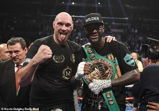 Le WBC a ouvert la voie à un match revanche entre Fury et Deontay Wilder