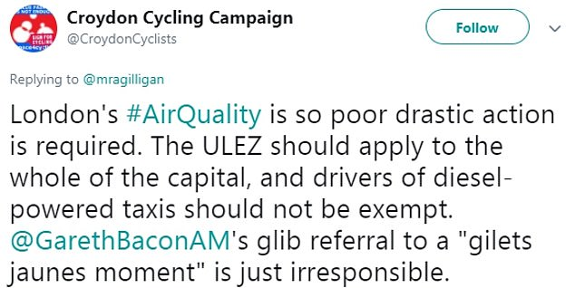 Social media users have made their opinions on ULEZ heard on Twitter over the past two days