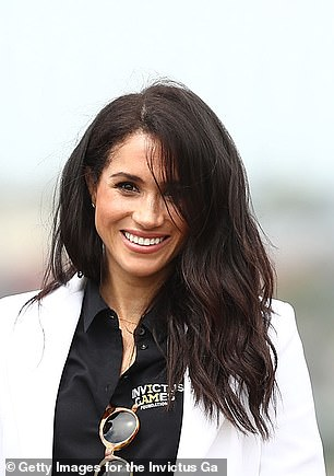 Meghan with a thicker mane in Sydney in October
