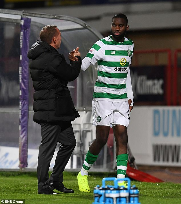 WhenOdsonne Edouard was substituted on Sunday, Celtic were left with no strikers