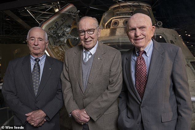 Borman and Anders never flew in space again, and Soviet cosmonauts never made it to the moon. Lovell went on to command the ill-fated Apollo 13 - 'but that's another story'