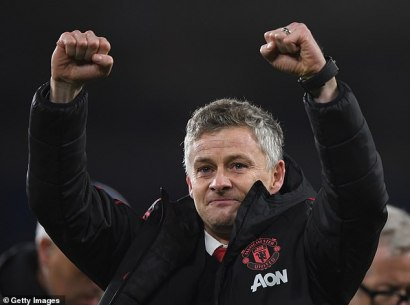 Ole Gunnar Solskjaer admitted he was left feeling 'proud and emotional' by the reception
