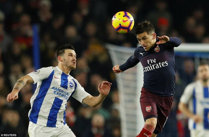 The equaliser buoyed Brighton and they kept their foot on the gas as they went in search of a late winner in front of their fans