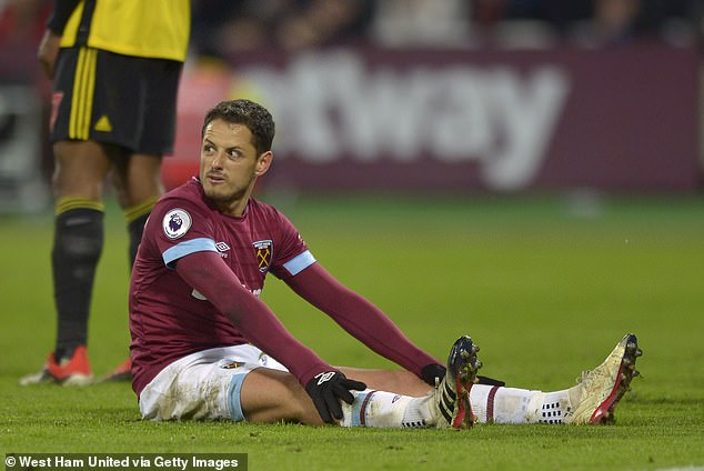 Javier Hernandez is the latest to be struggling after he collected a hamstring strain vs Watford