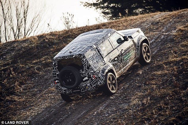 The car will also be put through its paces at extreme heights, with prototypes taken 13,000 feet above sea level