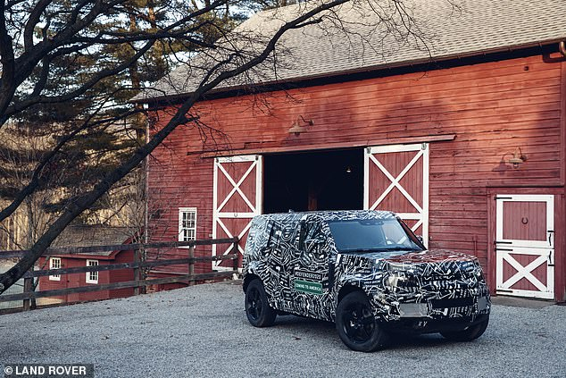 Land Rover said:'The Defender nameplate stands for durability and alongside Range Rover delivering ultimate luxury and Discovery offering the best versatility in the market, we will have an SUV for every customer requirement'