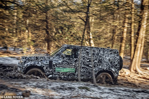 The car will be unveiled in its final production form towards the end of 2019. It's likely to take place at a special Land Rover event filled with glitz and glamour