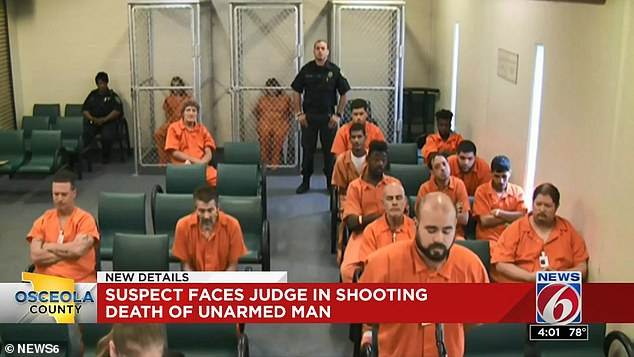 Velasquez was silent during his Thursday court appearance where he was denied bail and charged with murder