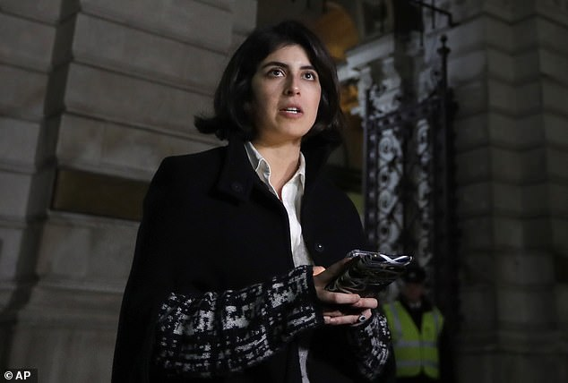 Daniela Tejada (pictured above) campaigned tirelessly to help her husband