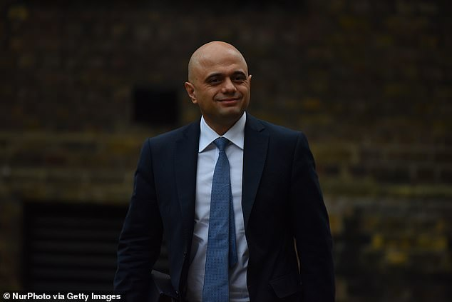 Mr Javid bowed to pressure to abandon his luxury break after MPs from his own party lined up to demand action