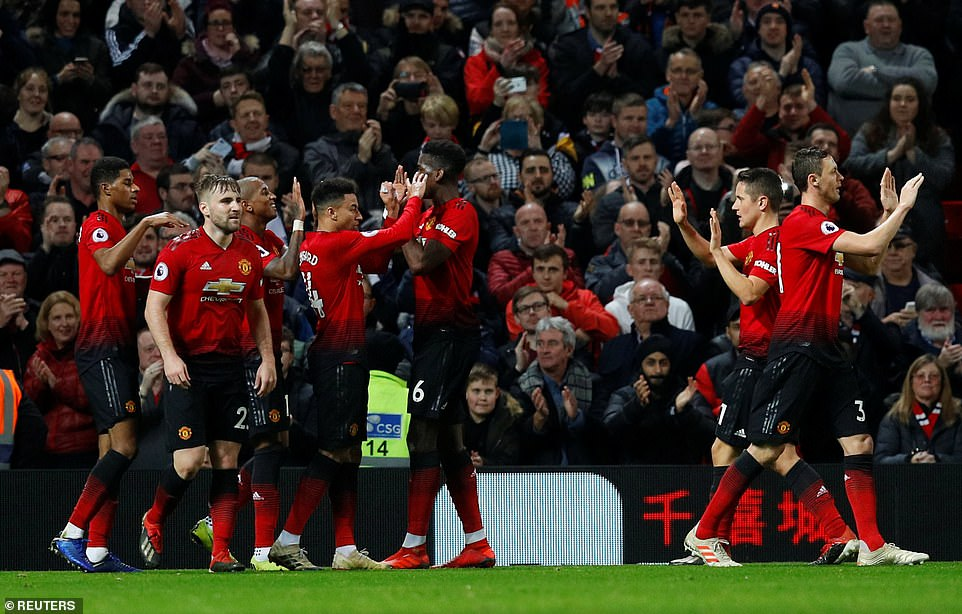 Since the arrival of Solskjaer United have been free-scoring, having scored five at Cardiff City and three against Huddersfield