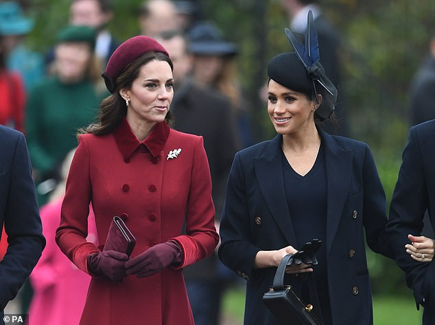 A source who claimed to be close to Meghan (left) said she is 'not a person you can actually be friends with'