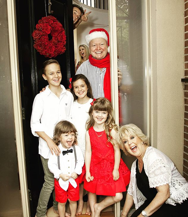 Family ties: Lauren is also mother to sons Sam, 12, and Monty, three, and daughters Eva, ten, and Lola, seven