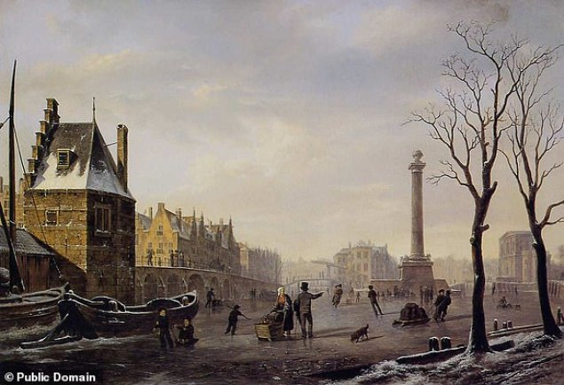 The 'Little Ice Age' was not a true Ice Age, but brought cold temperatures in three intervals from the mid-1600s to the 1800s. Rivers also froze over in many locations, and 'frost fairs' were held along the River Thames
