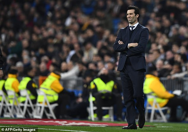 The pressure is mounting on Santiago Solari after taking just one point from two home games