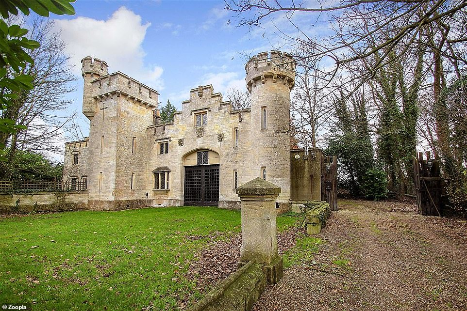 With a budget of £850k, would you buy this Grade-II listed castle in Wiltshire that dates back to 1835?