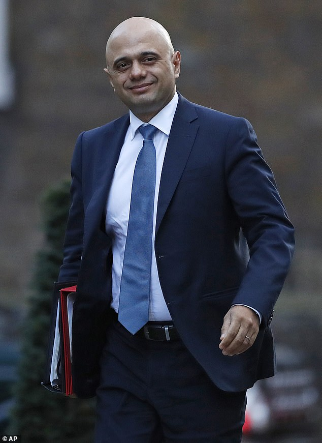 Former BBC executive Mr Gibb does not name individual ministers in his email. But insiders said his anger was directed at Home Secretary Mr Javid and others
