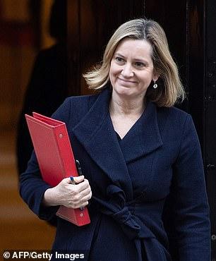 Britain's Work and Pensions Secretary Amber Rudd