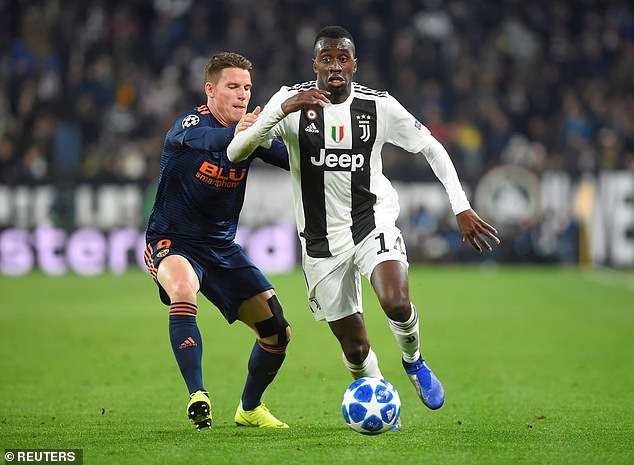 The star of France Blaise Matuidi is usually on the left of Pjanic and is the incarnation of a handyman