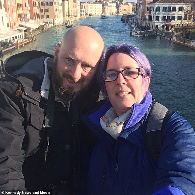 Ms Noble struggled to watch her boyfriend in pain, with her initially telling him his feverish symptoms were likely just sunstroke. After Mr Blurton was diagnosed with cellulitis and sepsis in the African hospital, doctors told Ms Noble he was lucky to still be alive