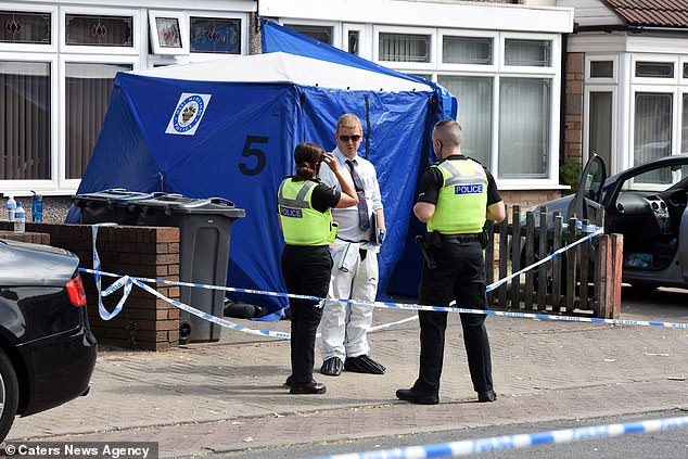 Police launched a murder investigation after finding Mrs Bi's body inside the house in Birmingham, West Midlands