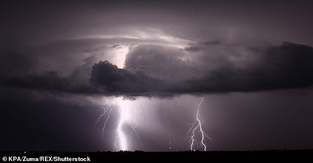 Using data from its national lightning detection network, the environmental measurement specialist Vaisala published its annual lightning report. In the picture, Tempest on Amarillo, Texas (image)