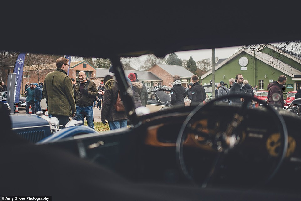 The Sunday Scramble of Bicester Heritage has become a runaway success with 7,000 visitors in the first of 2019