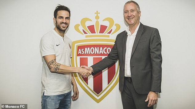 The Spanish midfielder has joined the principality team with a three and a half year contract