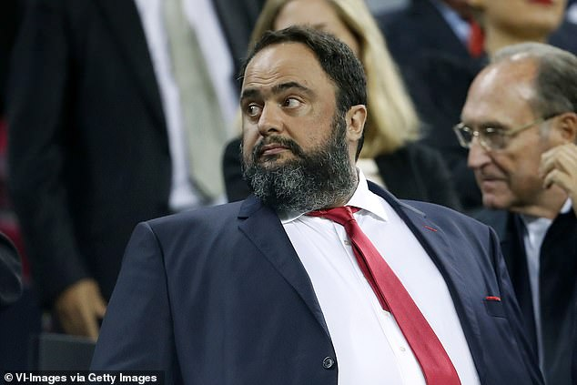 Evangelos Marinakis had attempted to make the relationship work before parting company