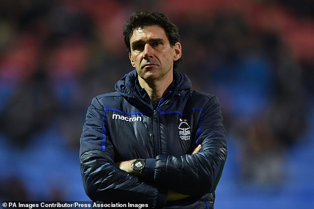 Aitor Karanka has left his role as manager or Championship club Nottingham Forest