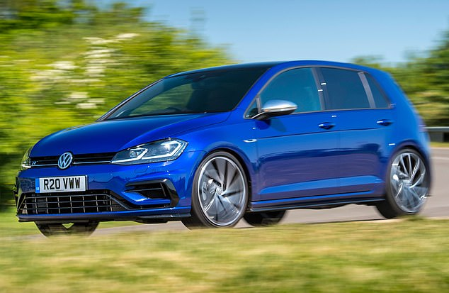 Grab a deal: Big discounts are available on cars like the VW Golf. Car sales in the United Kingdom plunged by 6.8% in 2018 and almost a third of diesel, according to data from this week