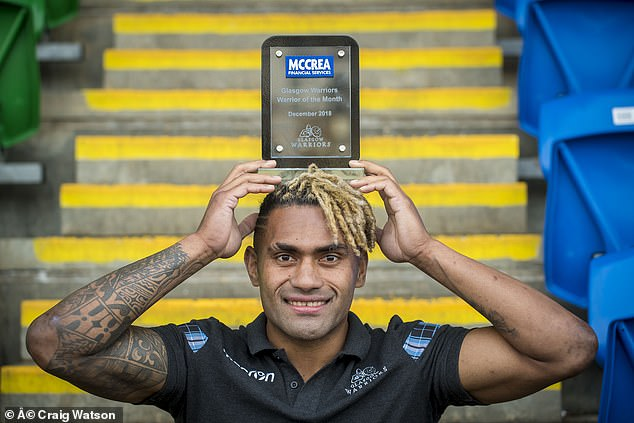 Despite the cold conditions that welcomed him, Matawalu was not hit by Scotland