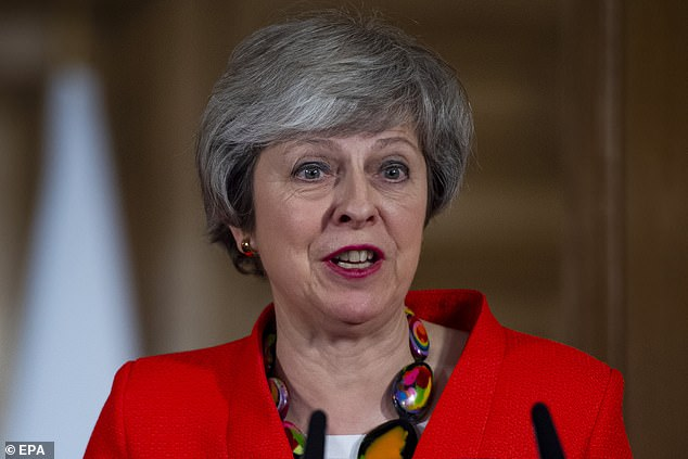 Her deal is not perfect by any means, nor will it herald the end of bitter Tory rivalries over Brexit. But as shown by an opinion poll published in today¿s Mail, public support for it has grown in the past month from both Tory and Labour voters [File photo]