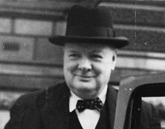 Britain experienced such a moment in May 1940. Prime Minister Neville Chamberlain had lost control of his Conservative Party, opening the way for a deeply distrusted outsider.That man was Winston Churchill, above, and, of course, history eventually proved him to be a national hero [File photo]